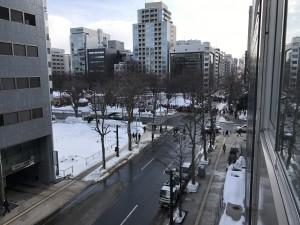 H2902事務所から雪祭り-
